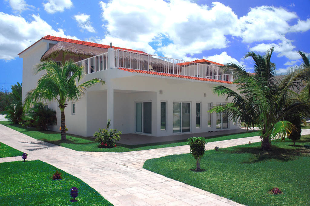 Cozumel Villa Coralina 4BR/4BA Cozumel Vacation Beach House Villa Sleeps 6 to 14 People