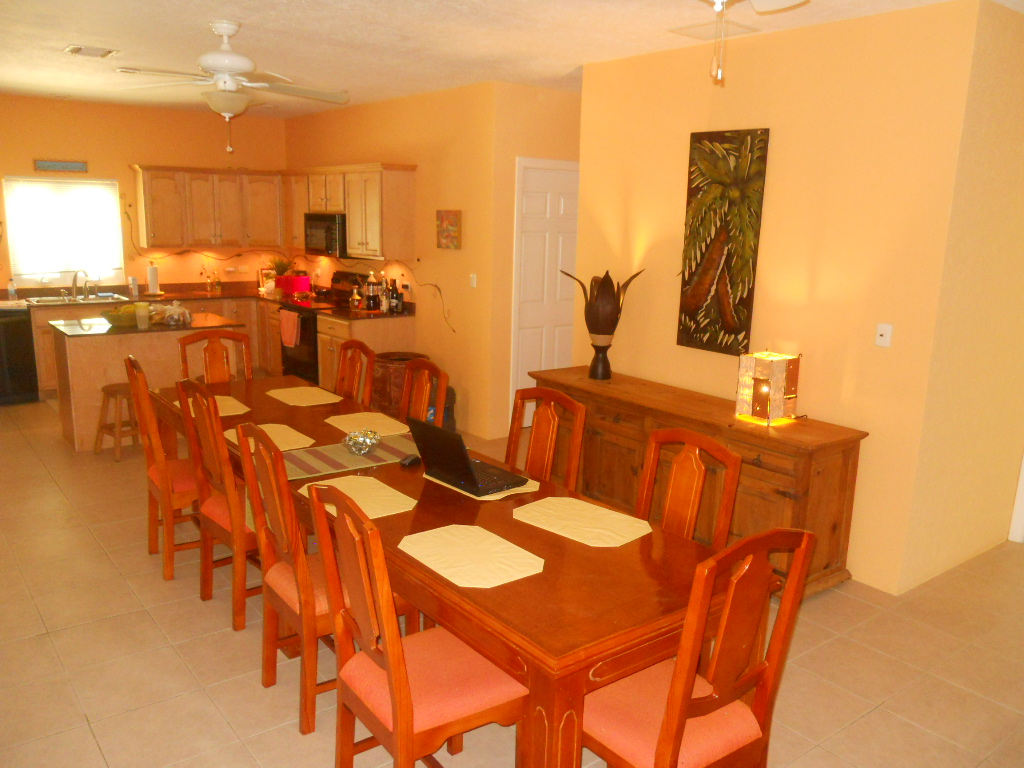 Cozumel Vacation Rental - Dining Room for 12 Guests