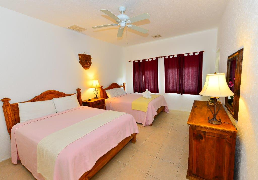 Cozumel Villa Coralina Guest Bedroom 1